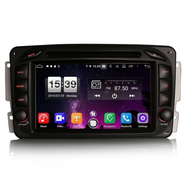 Navigatie auto, Pachet dedicat Mercedes BENZ C/CLK/G Class Vito Viano, Android 9.0, 7 inch, DAB+,8-Core CPU. [0]