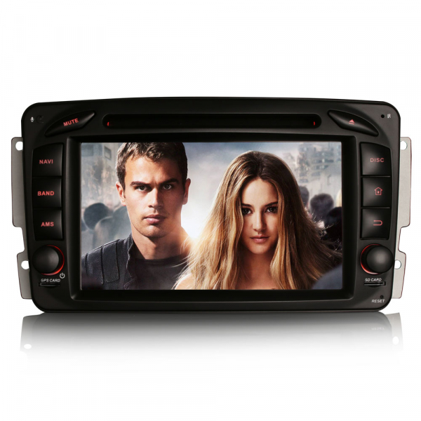 Navigatie auto, Pachet dedicat Mercedes BENZ C/CLK/G Class Vito Viano, Android 9.0, 7 inch, DAB+,8-Core CPU. [6]