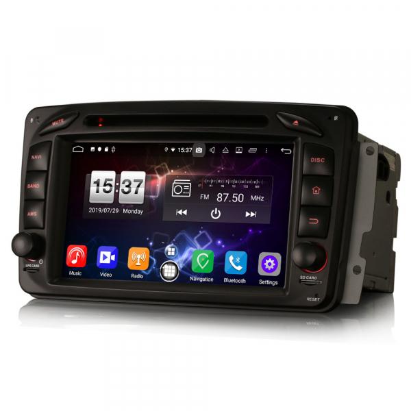 Navigatie auto, Pachet dedicat Mercedes BENZ C/CLK/G Class Vito Viano, Android 9.0, 7 inch, DAB+,8-Core CPU. [9]