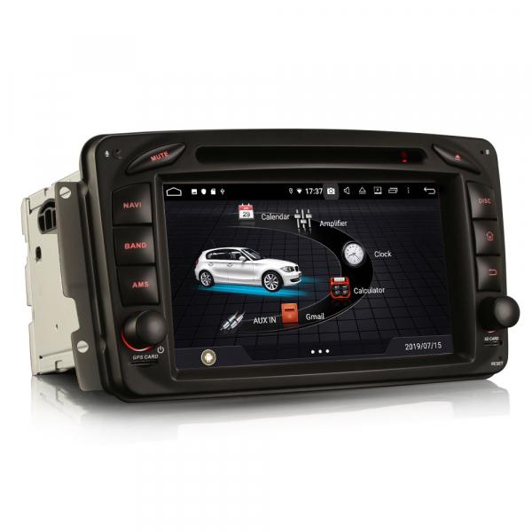 Navigatie auto, Pachet dedicat Mercedes BENZ C/CLK/G Class Vito Viano, Android 9.0, 7 inch, DAB+,8-Core CPU. [1]