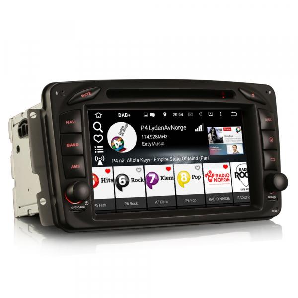 Navigatie auto, Pachet dedicat Mercedes BENZ C/CLK/G Class Vito Viano, Android 9.0, 7 inch, DAB+,8-Core CPU. [4]
