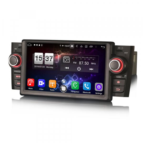 Navigatie auto, Pachet dedicat Fiat Punto Linea ,7 inch, Android 9.0, GPS, WIFI, DAB+. 6