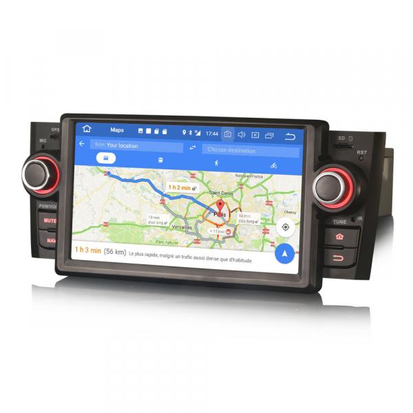 Navigatie auto, Pachet dedicat Fiat Punto Linea ,7 inch, Android 9.0, GPS, WIFI, DAB+. 8