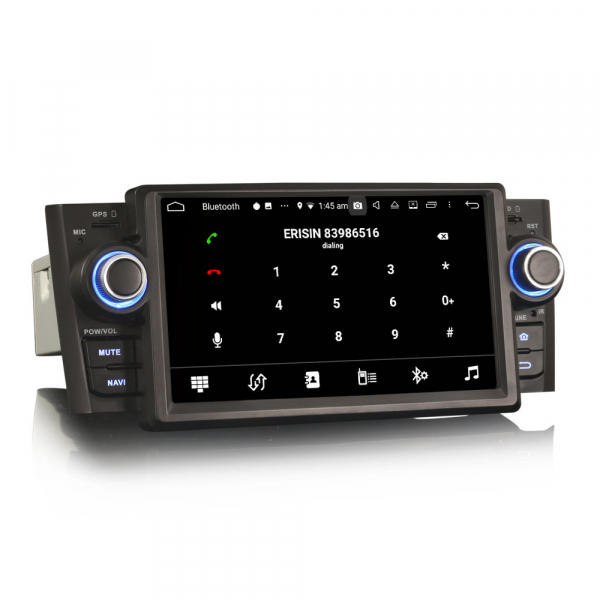 Navigatie auto, Pachet dedicat Fiat Punto Linea ,7 inch, Android 9.0, GPS, WIFI, DAB+. 1