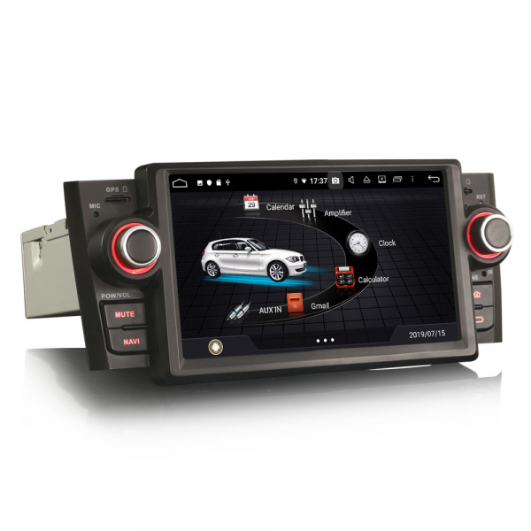 Navigatie auto, Pachet dedicat Fiat Punto Linea ,7 inch, Android 9.0, GPS, WIFI, DAB+. 2