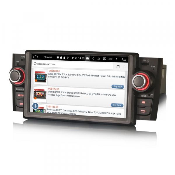 Navigatie auto, Pachet dedicat Fiat Punto Linea ,7 inch, Android 9.0, GPS, WIFI, DAB+. 3