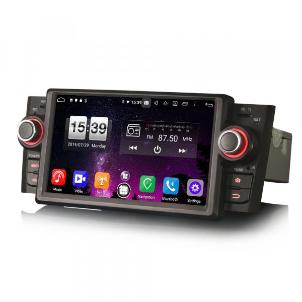 Navigatie auto, Pachet dedicat Fiat Punto Linea ,7 inch, Android 9.0, GPS, WIFI, DAB+. 4