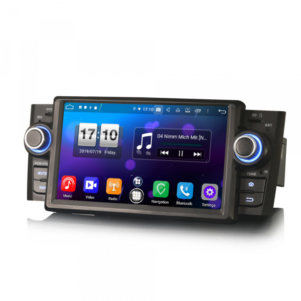 Navigatie auto, Pachet dedicat Fiat Punto Linea ,7 inch, Android 9.0, GPS, WIFI, DAB+. 5