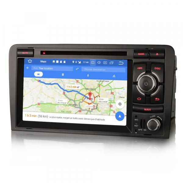 Navigatie auto, Pachet dedicat AUDI A3 S3 RS3, Android 9.0, GPS, WIFI, DAB+, 7 inch. 6