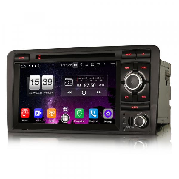 Navigatie auto, Pachet dedicat AUDI A3 S3 RS3, Android 9.0, GPS, WIFI, DAB+, 7 inch. 3