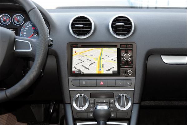 Navigatie auto, Pachet dedicat AUDI A3 S3 RS3, Android 9.0, GPS, WIFI, DAB+, 7 inch. 8