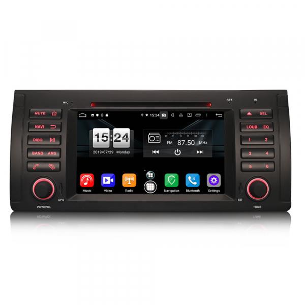 Navigatie auto, Pachet dedicat BMW  Seria 5 E39 E53 X5 M5 ,Octa Core GPS, WIFI,DAB+. 0