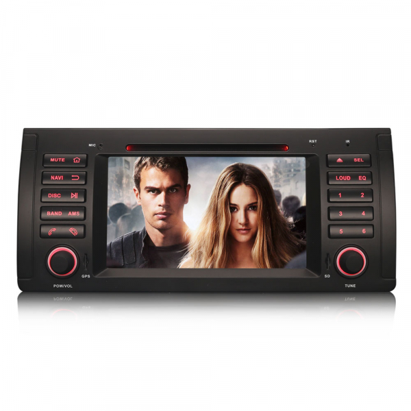 Navigatie auto, Pachet dedicat BMW  Seria 5 E39 E53 X5 M5 ,Octa Core GPS, WIFI,DAB+. 7