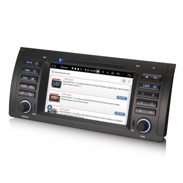 Navigatie auto, Pachet dedicat BMW  Seria 5 E39 E53 X5 M5 ,Octa Core GPS, WIFI,DAB+. 2