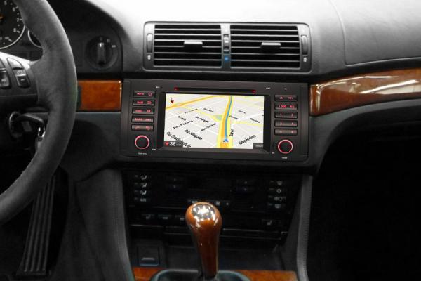 Navigatie auto, Pachet dedicat BMW  Seria 5 E39 E53 X5 M5 ,Octa Core GPS, WIFI,DAB+. 10