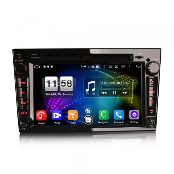 Navigatie auto, Pachet dedicat Opel Vauxhall Vivaro Astra Corsa Zafira ,8 Core, 7 inch, Android 9.0, GPS, WIFI, DAB+ [0]