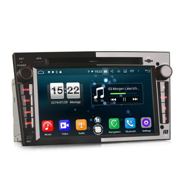 Navigatie auto, Pachet dedicat Opel Vauxhall Vivaro Astra Corsa Zafira ,8 Core, 7 inch, Android 9.0, GPS, WIFI, DAB+ [1]