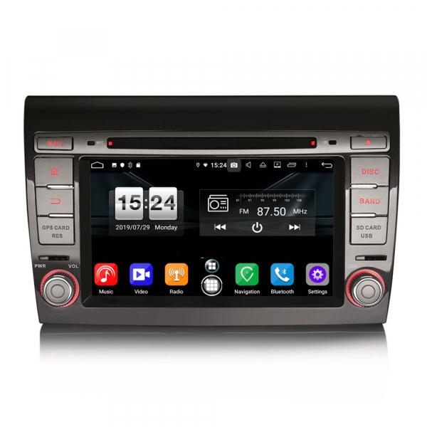 Navigatie auto, Pachet dedicat Fiat Bravo ,7 inch, Android 9.0,8 Core, GPS, WIFI, DAB+ 0