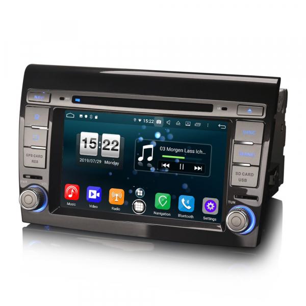 Navigatie auto, Pachet dedicat Fiat Bravo ,7 inch, Android 9.0,8 Core, GPS, WIFI, DAB+ 6