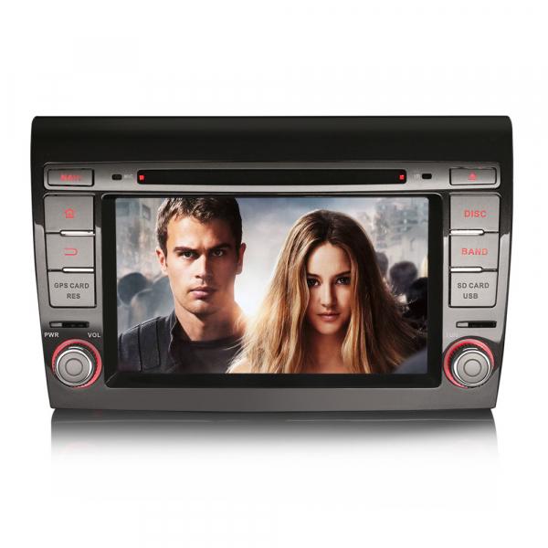 Navigatie auto, Pachet dedicat Fiat Bravo ,7 inch, Android 9.0,8 Core, GPS, WIFI, DAB+ 7