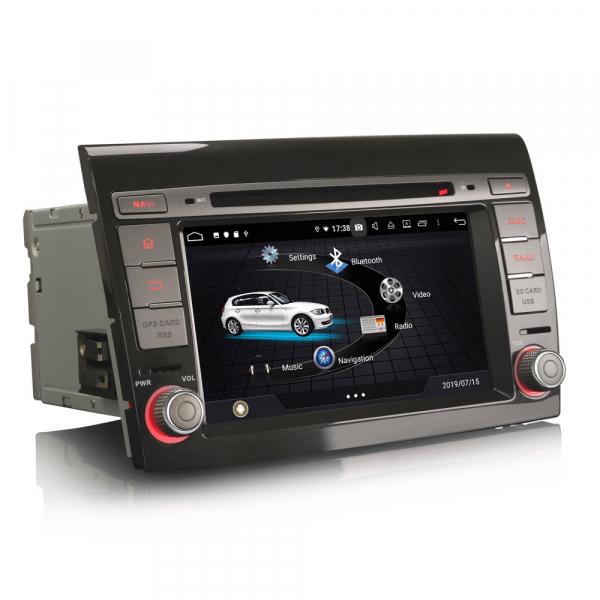 Navigatie auto, Pachet dedicat Fiat Bravo ,7 inch, Android 9.0,8 Core, GPS, WIFI, DAB+ 2