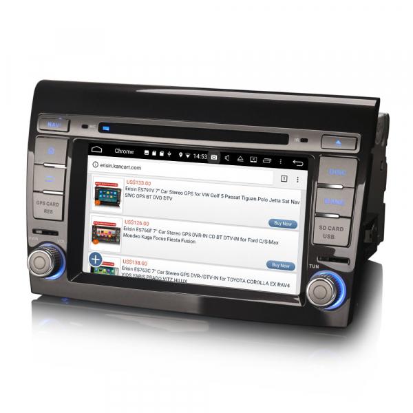 Navigatie auto, Pachet dedicat Fiat Bravo ,7 inch, Android 9.0,8 Core, GPS, WIFI, DAB+ 3
