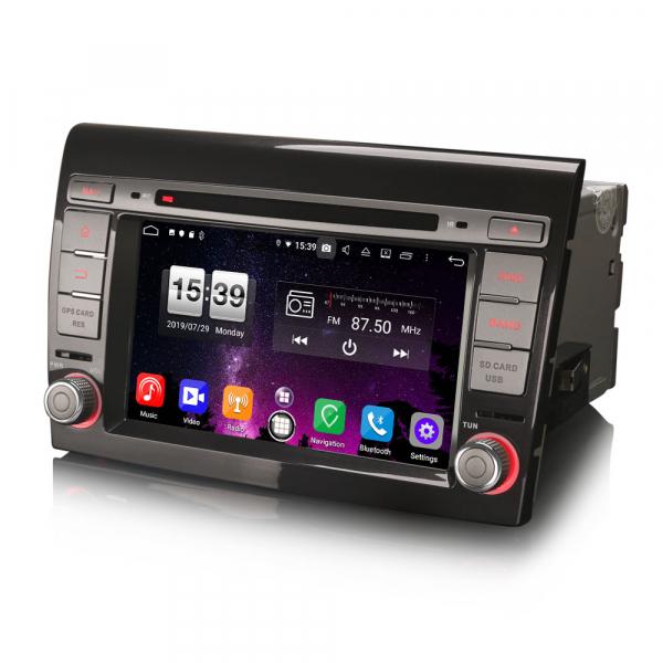 Navigatie auto, Pachet dedicat Fiat Bravo ,7 inch, Android 9.0,8 Core, GPS, WIFI, DAB+ 4