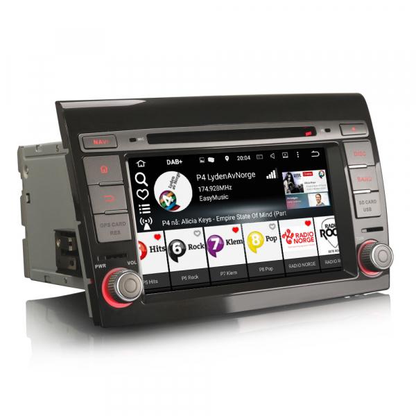 Navigatie auto, Pachet dedicat Fiat Bravo ,7 inch, Android 9.0,8 Core, GPS, WIFI, DAB+ 5