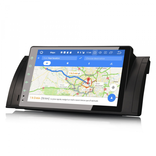 Navigatie auto 2 din, Pachet dedicat BMW 5 Series E39 E53 X5 M5 Navi 4G, Android 9.0 , WIFI+GPS, 9 inch,, DAB+,Quad core CPU, 4GB Ram,32GB memorie interna [6]