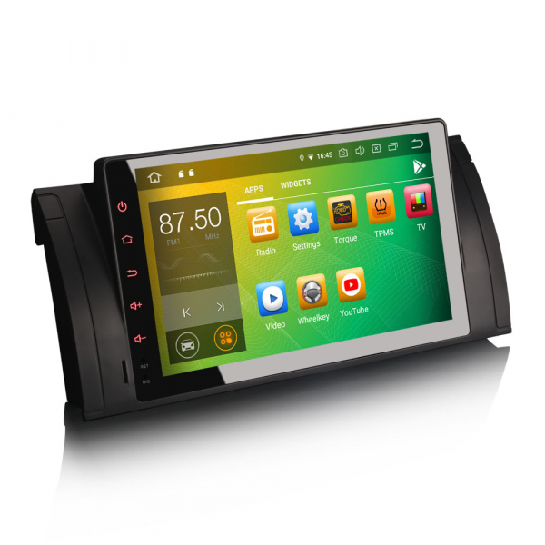 Navigatie auto 2 din, Pachet dedicat BMW 5 Series E39 E53 X5 M5 Navi 4G, Android 9.0 , WIFI+GPS, 9 inch,, DAB+,Quad core CPU, 4GB Ram,32GB memorie interna [1]