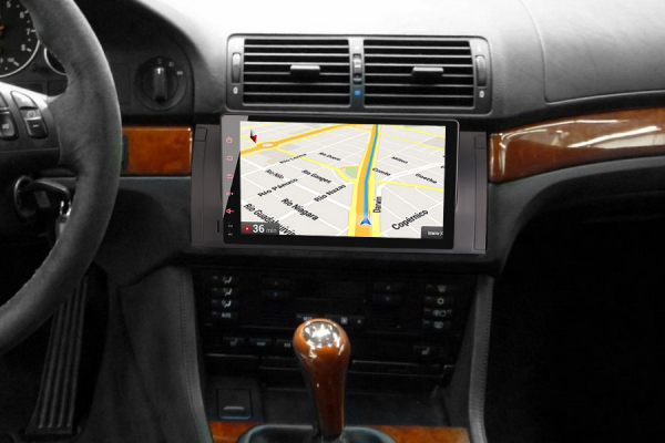 Navigatie auto 2 din, Pachet dedicat BMW 5 Series E39 E53 X5 M5 Navi 4G, Android 9.0 , WIFI+GPS, 9 inch,, DAB+,Quad core CPU, 4GB Ram,32GB memorie interna [8]