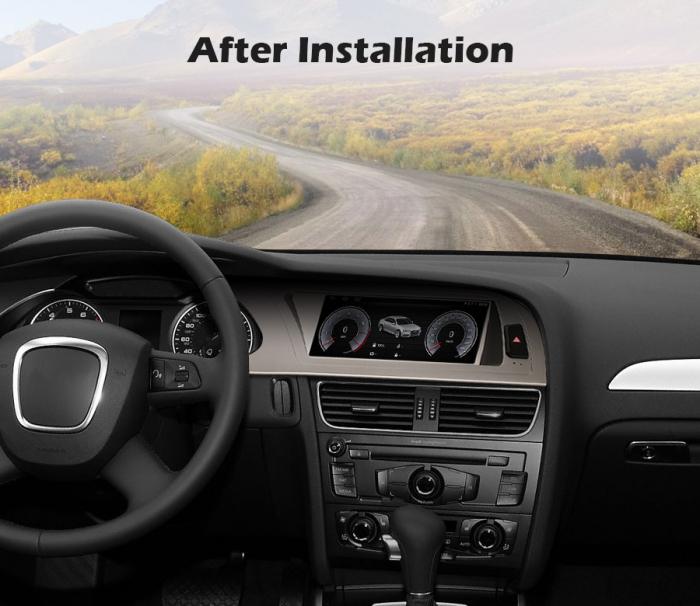 Navigatie auto, Pachet dedicat Audi A4 2009-2012, Android 10.0, 8.8 Inch [9]