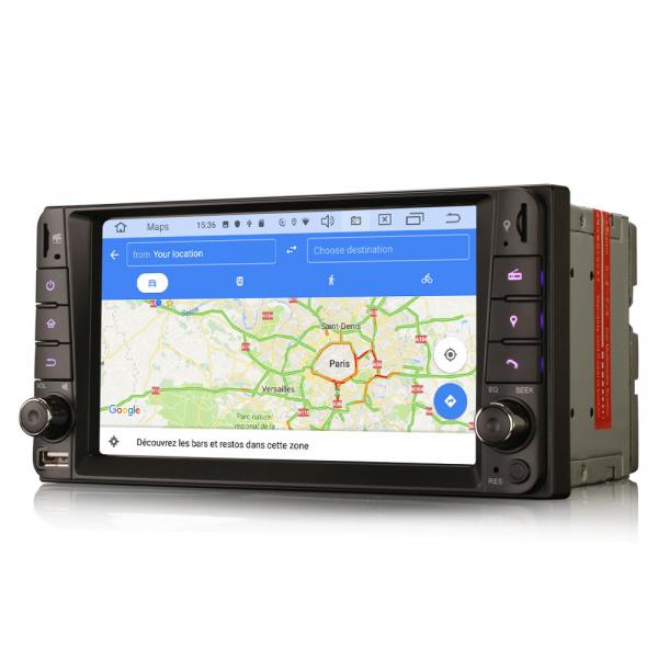 Navigatie auto, Pachet dedicat TOYOTA , 7 inch, Android 10 7