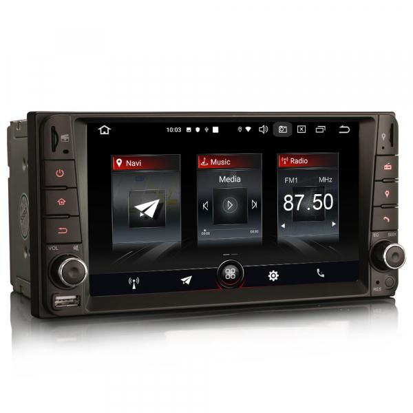 Navigatie auto, Pachet dedicat TOYOTA , 7 inch, Android 10 4