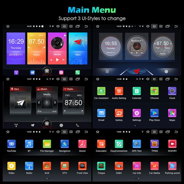 Navigatie auto, Pachet dedicat TOYOTA , 7 inch, Android 10 10