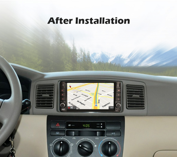 Navigatie auto, Pachet dedicat TOYOTA , 7 inch, Android 10 9