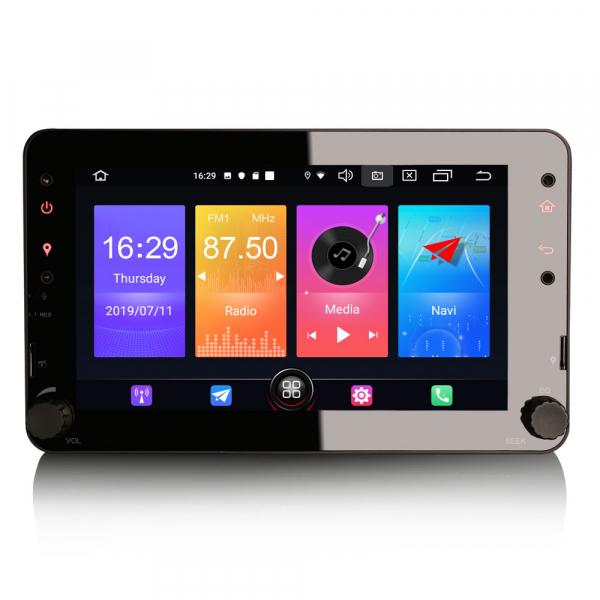 Navigatie auto 2 din, Pachet dedicat ALFA ROMEO Spider 159, Android 10.0, 7 inch 0