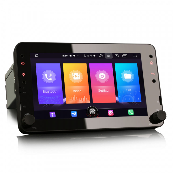 Navigatie auto 2 din, Pachet dedicat ALFA ROMEO Spider 159, Android 10.0, 7 inch 3