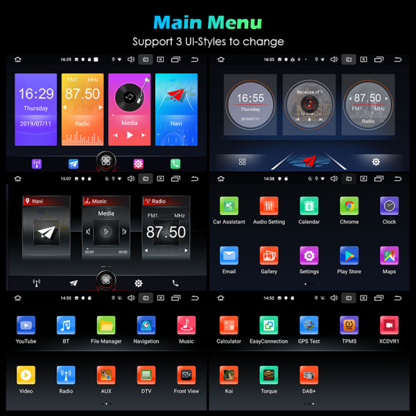 Navigatie auto 2 din, Pachet dedicat ALFA ROMEO Spider 159, Android 10.0, 7 inch 9