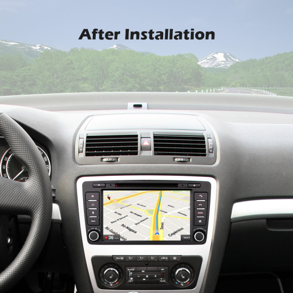 Navigatie auto, Pachet dedicat Skoda Superb Octavia, 8 inch, Android 10.0 [9]