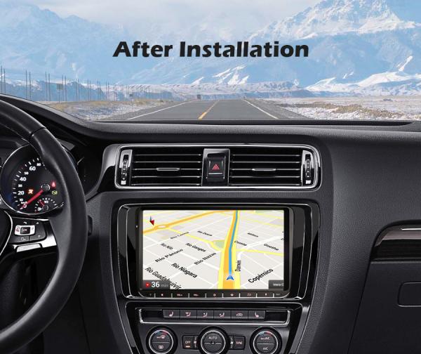 Navigatie auto, Pachet dedicat VW Passat Golf 5 Touran Polo Seat, 9 inch, Android 10.0 [12]