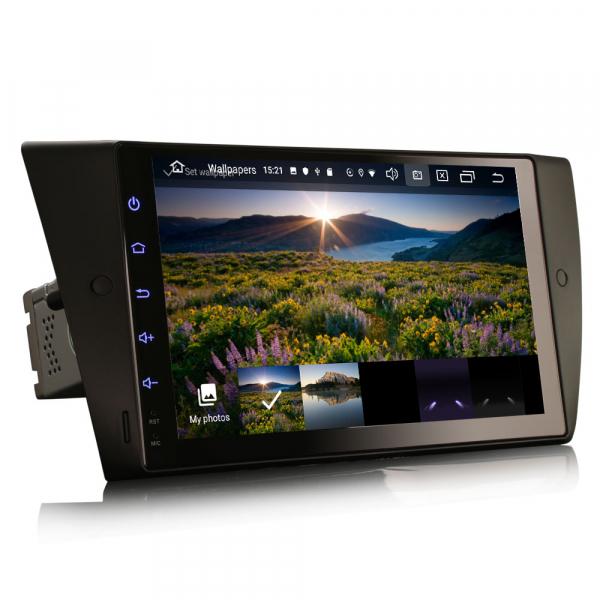 Navigatie auto, Pachet dedicat BMW Seria 3 E90 E91 E92 E93 M3, 9 inch, Android 10.0 3