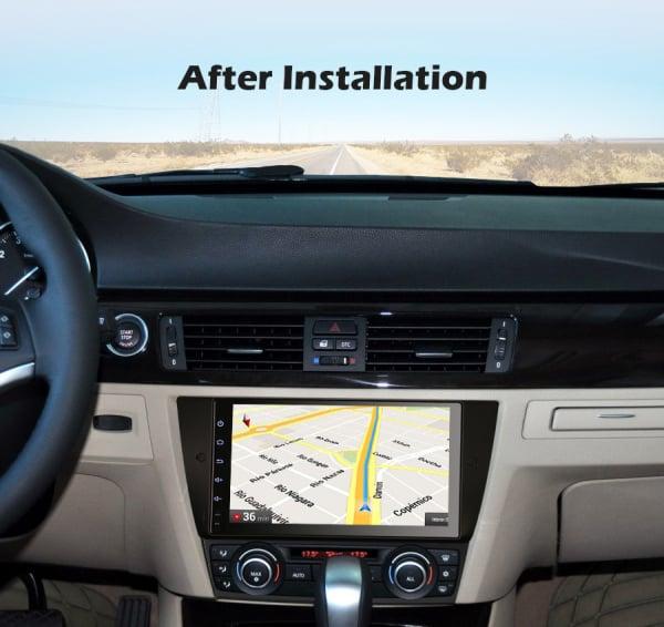 Navigatie auto, Pachet dedicat BMW Seria 3 E90 E91 E92 E93 M3, 9 inch, Android 10.0 10