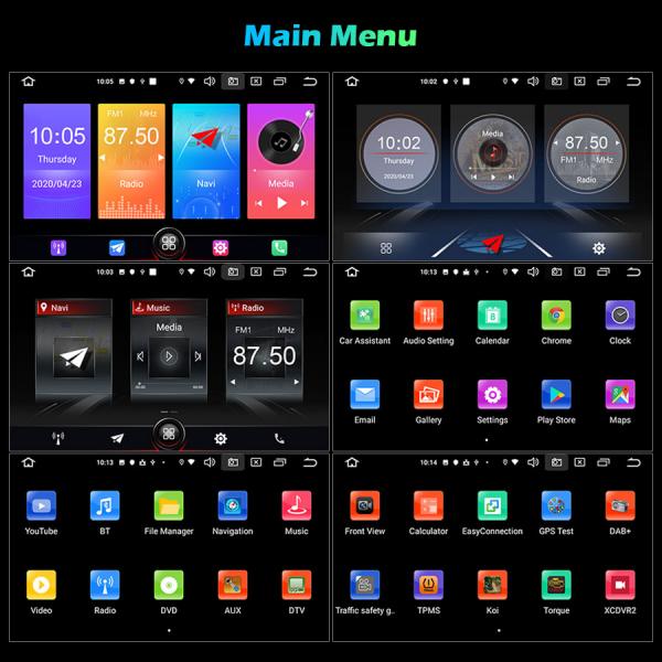 Navigatie auto, Pachet dedicat Kia, 6.2 inch, Android 10.0 11