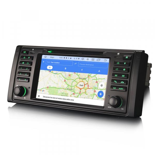 Navigatie auto, Pachet dedicat BMW Seria 5/M5/X5,7 inch, Android 10.0 9