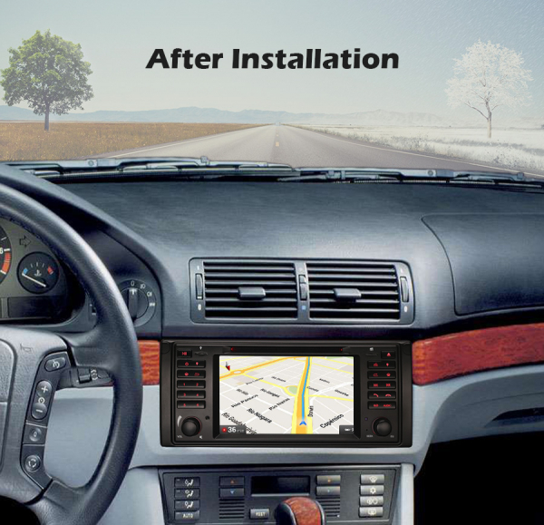 Navigatie auto, Pachet dedicat BMW Seria 5/M5/X5,7 inch, Android 10.0 10