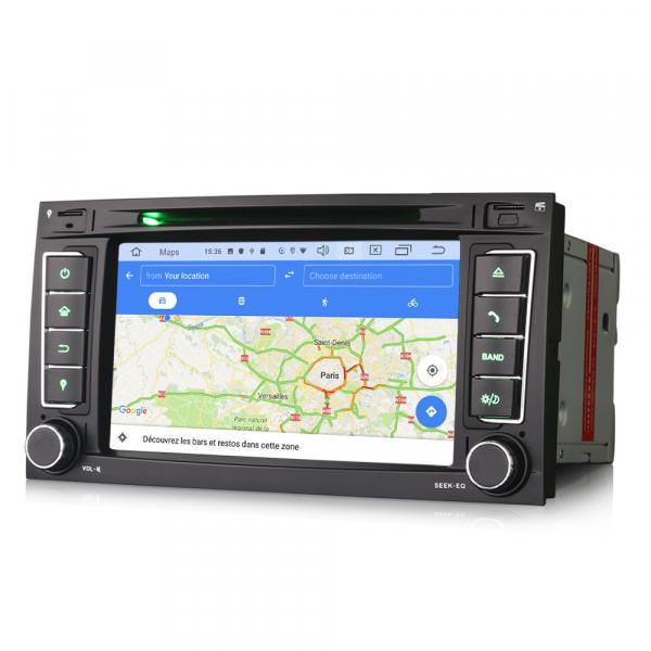 Navigatie auto 2 din, Pachet dedicat VW TOUAREG T5, 7 Inch, Android 10.0 [7]