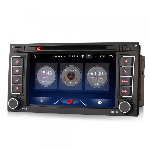 Navigatie auto 2 din, Pachet dedicat VW TOUAREG T5, 7 Inch, Android 10.0 [5]