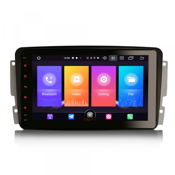 Navigatie auto, Pachet dedicat Mercedes Benz W203 Vito, Android 10.0, 8 inch 0