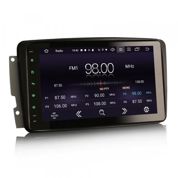 Navigatie auto, Pachet dedicat Mercedes Benz W203 Vito, Android 10.0, 8 inch 7